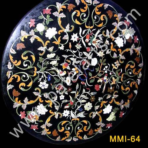 Marble Inlay Table Tops, Inlay Table Tops, Tabletops, Inlay Tops, Udaipur,